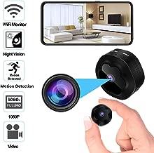 Mini Spy Hidden Camera WiFi Wireless Camera 1080P HD Remotely Monitor, Motion Detection..