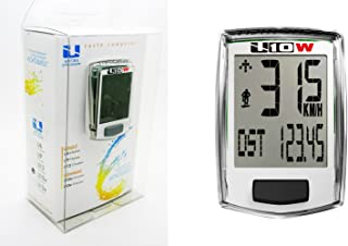 Cuentakilometros Profesional Velocimetro Sin Cable Echowell con 10 Funciones de Bicicleta 3027Bl