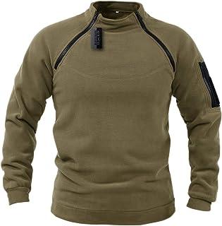 ZAPT Tactical Fleece Jacket Military Polartec Thermal Pro Thick Warm Tech Fleece