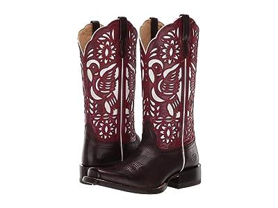 Ariat Dorinda (Deep Mahogany/Sangria) Cowboy Boots