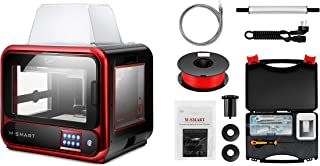 2020 Newest Junco M-Smart Desktop 3D Printer, Upgrade from A-Smart, Built Volume 6.7''x5.9''x6.3''(170x150x160mm) WiFi Connection, Precise Printing with ABS,PLA,TPU,Flexible Filament
