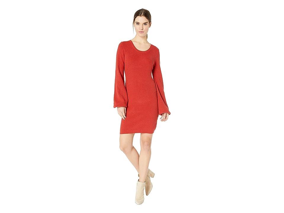 Jack by BB Dakota Capricorn Sweater Knit Dress (Rust) Women