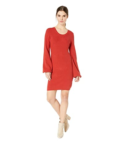 Jack by BB Dakota Capricorn Sweater Knit Dress (Rust) Women