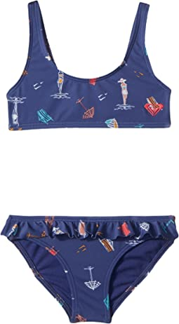 Roxy Kids - Tropicool Sunshine Athletic Set (Toddler/Little Kids)