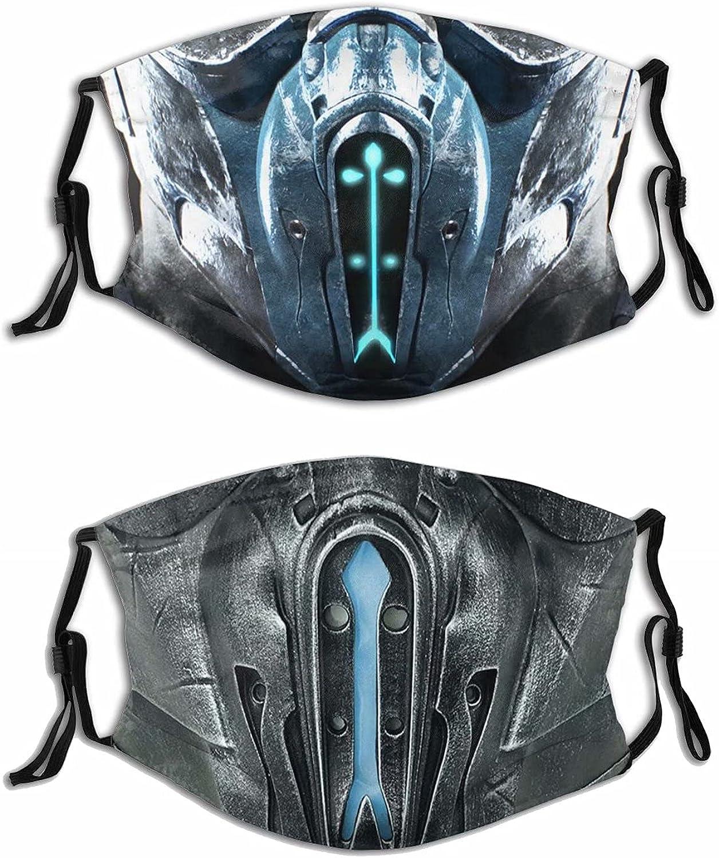 Mortal-Kombat-Face-Mask Reusable Washable Adjustable Cloth Mouth Cover For Men Women