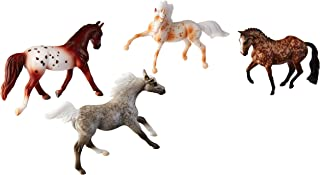 Breyer Stablemates Dapples & Dots Horse Toy Set | 4 Horse Set | 1:32 Scale | Model #6036