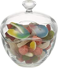 Candy Jars for Candy Buffet, Candy Dish with Lid, Glass Bowl and Food Storage Container, Decorative Cookie Jars, Apothecary Jars