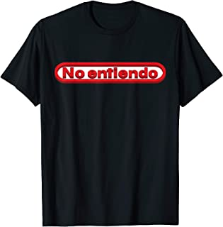 No Entiendo Shirt Funny Spanish I Dont Understand T-Shirt