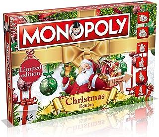 Winning Moves Monopoly, Engelse uitgave Kerstmis. Christmas