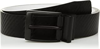 Nike Men's Carbon Fiber-Texture Reversible Belt