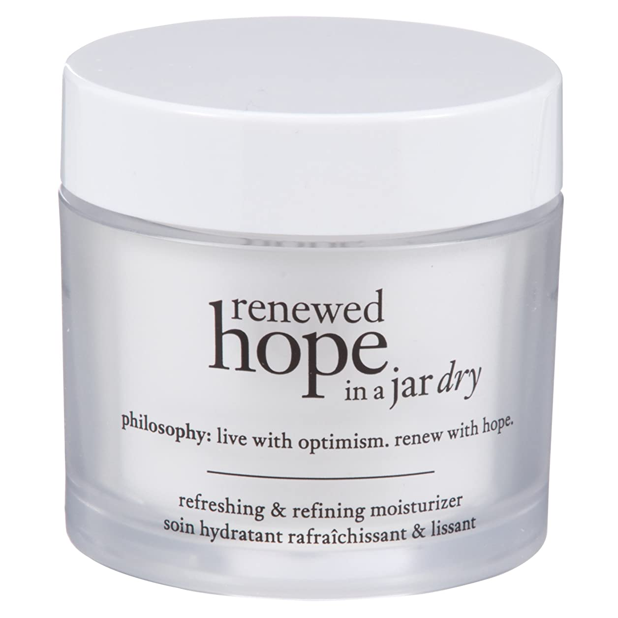 神社反対した懐疑的瓶乾燥肌の保湿60ミリリットルで哲学新たな希望 (Philosophy) (x2) - Philosophy Renewed Hope in a Jar Dry Skin Moisturiser 60ml (Pack of 2) [並行輸入品]