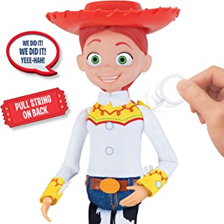 Toy Story Disney Pixar 4 Cowgirl Jessie Pull-String Talking Figure. Amazon Exclusive