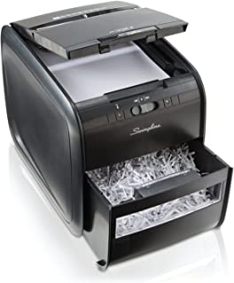 Swingline Stack-and-Shred 60X Hands Free Shredder, Cross-Cut, 60 Sheets, 1 User (1757572)