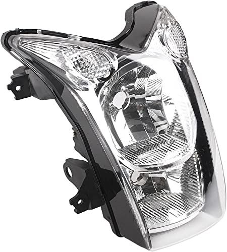 new arrival Mallofusa Motorcycle Front Headlight Headlamp Assembly Compatible for Kawasaki high quality ER-6N 2009 wholesale 2010 Clear Lens online