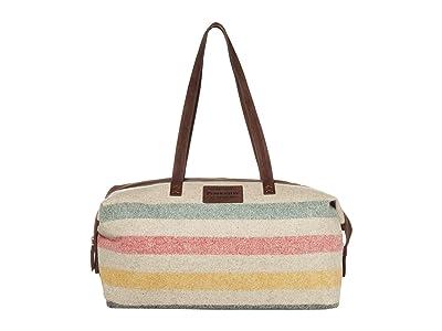 Pendleton Relaxed Gym Bag (Glacier Stripe) Handbags