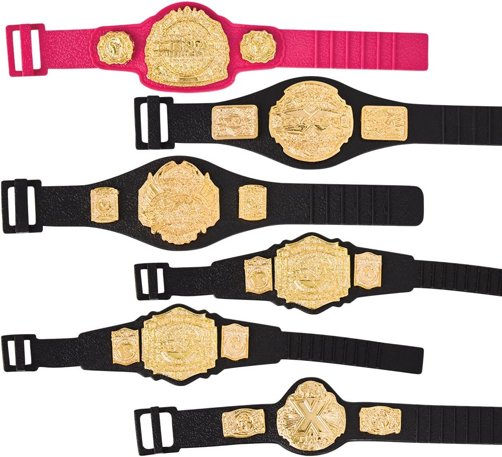 TNA JAKKS WORLD HEAVYWEIGHT CHAMPIONSHIP BELT ACCESSORY WRESTLING FIGURES WWE