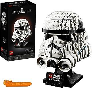 LEGO75276StarWarsStormtrooperhelmExpositiebouwset,Geavanceerdverzamelobjectcadeauvoorvolwassenen