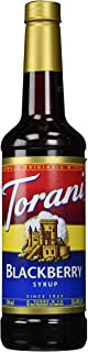 Torani Blackberry Syrup, 25.4 Fl Oz