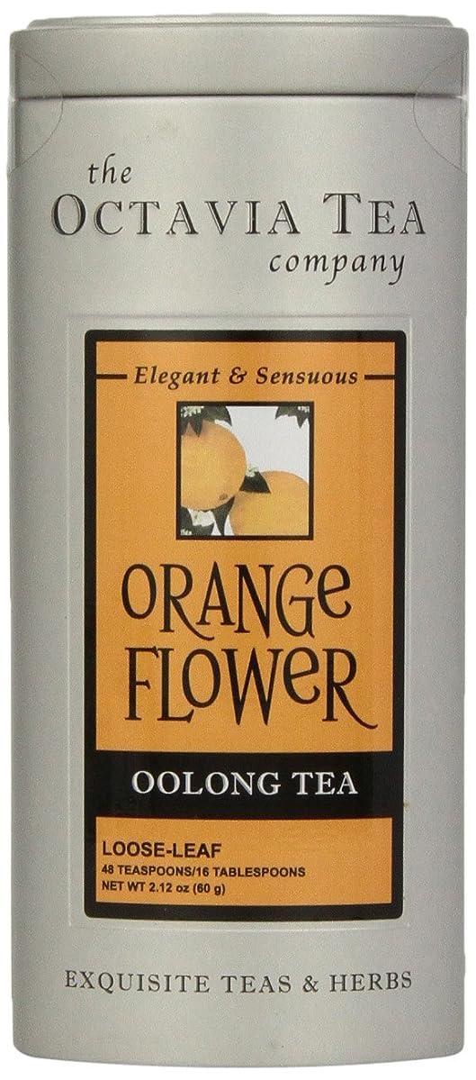 Octavia Tea Orange Flower (Oolong Tea) Loose Tea, 2.12 Ounce Tin