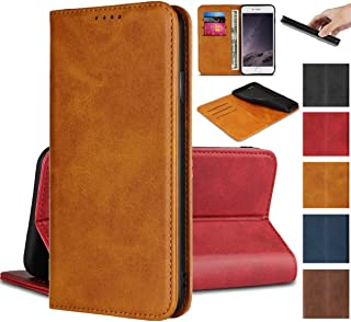 Jaorty Sony Xperia XZ Premium Wallet Case, Sony XZ Premium Case, Premium PU Leather Flip Folio Case with Card Slot, Stand Holder and Magnetic Closure [TPU Shockproof Interior Protective Case], Khaki