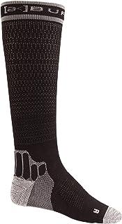 M AK - Calcetines de compresión para hombre, talla S, color negro