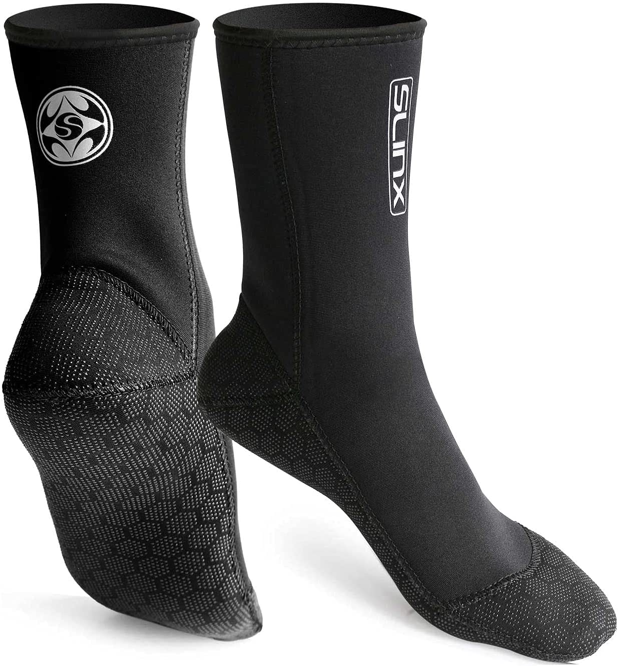 Limited price sale Max 52% OFF SLINX S Neoprene Water Fin Sock Wom Wetsuits for 3MM Diving
