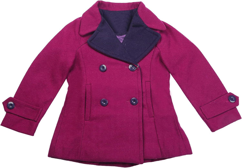 Girls' Lightweight Windbreaker Winter Coat Warm Cotton Coat Hooded Jacket