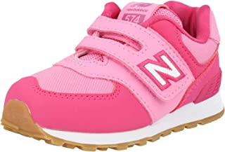 New Balance 574 Exhuberent Pink/Candy Suede Baby Trainers Shoes