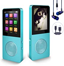 $20 » Mp3 Player, Hotechs Hi-Fi Sound, with FM Radio, Recording Function Build-in Speaker Expandable Up to 64GB with Noise Isola...