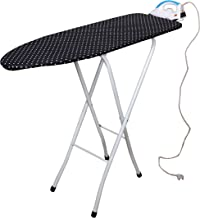 Magna Homewares Marino Extra Large Ironing Board with Ironing Rest,Height Adjustment and Fire Retardant Padding