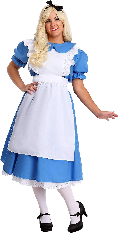 aquí tiene la última Deluxe Plus Plus Plus Talla Alice Fancy Dress Costume 2X  Para tu estilo de juego a los precios más baratos.