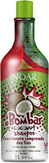 Shampoo Bombar Coconut com Óleo de Coco 1L, Inoar