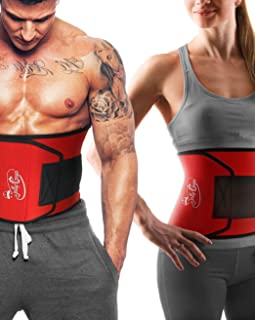 JollyGear Waist Trimmer Belt for Women or Men is Extra Wide and Long for Faster Results