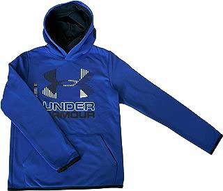 ColdGear Athletic Hoodie Youth Boys Big Logo Pullover 1318190