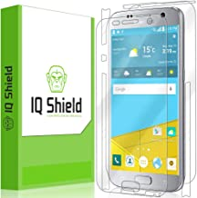IQ Shield Full Body Skin Compatible with Samsung Galaxy S7 + LiQuidSkin Clear (Full Coverage) Screen Protector HD and Anti-Bubble Film