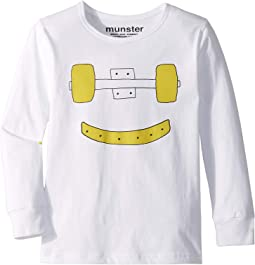 Trucks Grin Long Sleeve Tee (Toddler/Little Kids/Big Kids)