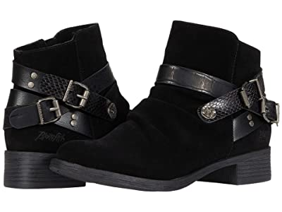 Blowfish Veto (Black Nubuck/Die Cut/Amazon/Dundee) Women