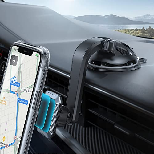 2021 Magnetic Car Mount, LISEN 2021 Upgraded Unobstructed Dashboard Magnet Phone Holder for Car sale [6 Strong Magnet] [Super Sticky Suction Cup] Adjustable Magnetic outlet online sale Phone Car Holder Mount for 4-7inch All Phone sale