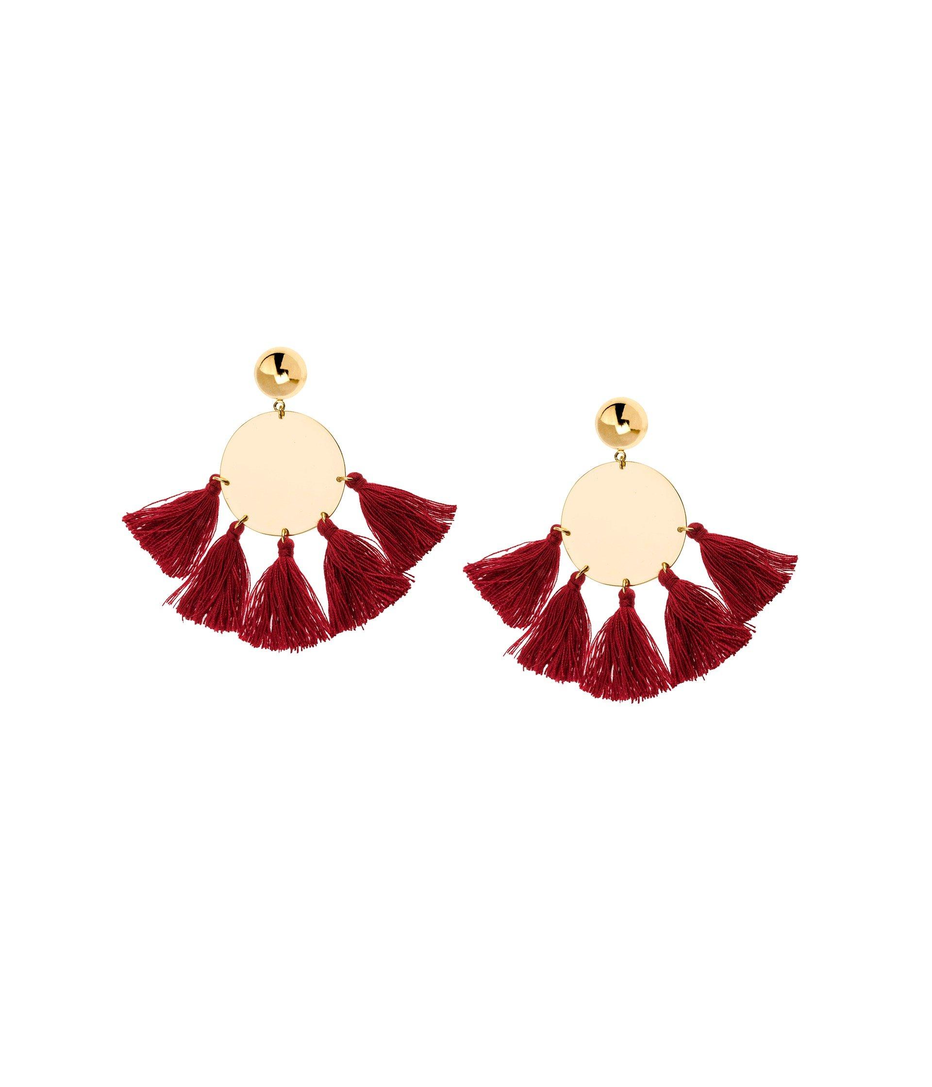 Jamie Tassel Earrings