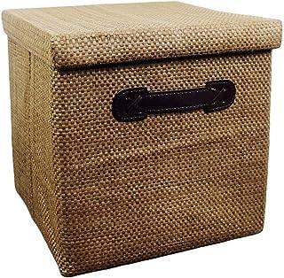 ZTMN Panier de Rangement Snack Boîte de Rangement Pliant Tissu Grande boîte de Rangement Boîte de Rangement Vêtements Boît...