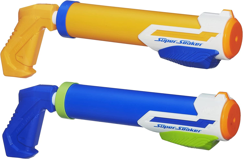 Super soaker Nerf Tidal Tube Blaster 2Pack(Discontinued by manufacturer)