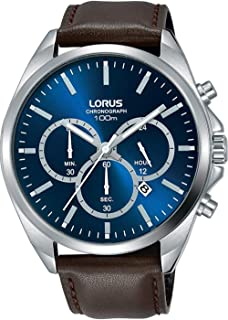 Lorus Sport Watch For Men Analog Leather - RT367GX9