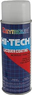 Seymour 16-121 Hi-Tech Lacquers Spray Paint, UV Resistant Gloss Clear Acrylic