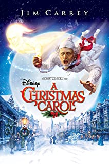 Posters USA Disney Classic A Christmas Carol Jim Carrey Movie Poster GLOSSY FINISH - FIL698 (24