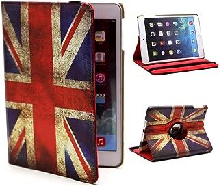 Case Guard® Weathered Union Jack Themed iPad Mini, iPad Mini 2 (Retina), and iPad Mini 3 (Retina) Folio Case