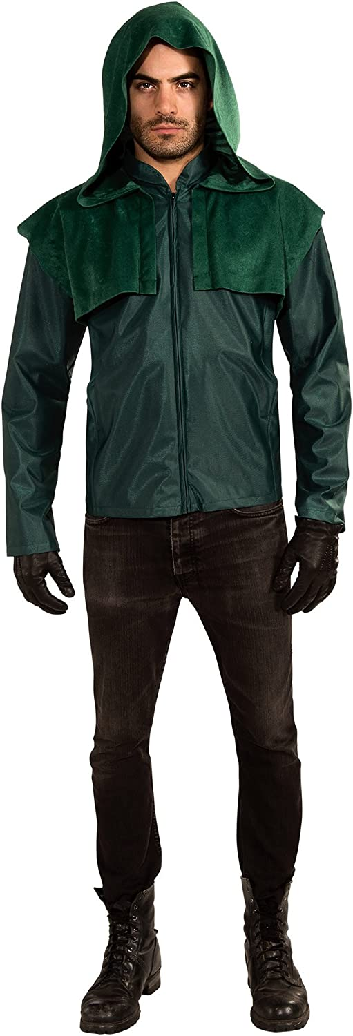 Rubie's Green Arrow Deluxe Adult 1 Costume - One-Size Max 74% OFF half Standard