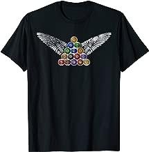 Angel Wings  Billiards Pool Balls T-Shirt