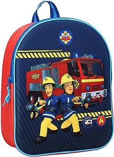 OZABI - Sac à Dos (Bagages, Sacs, cartables, Trousses,Parapluie.) Sam Le Pompier Fantaisie