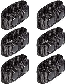 Onene Pack of 6 Belt Keeper Double Snaps Belt Keeper for 2¼