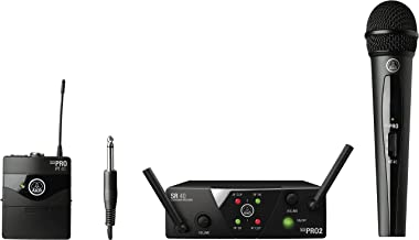 AKG Pro Audio, 2 Wireless Microphones and Transmitters (3352X00060)